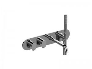 Graff Phase rubinetto vasca termostatico con doccetta EL7690HLM45E0