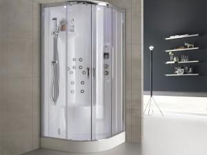 Hafro Nex Bi-Size Integra cabina de ducha multifuncion angular 1NBA2N2