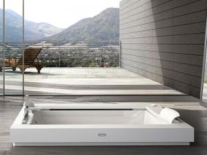 Jacuzzi Aura Plus Corian bañera de hidromasaje empotrada 9443731