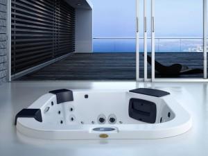 Jacuzzi Delfi Pro minipiscina de hidromasaje empotrada indoor y outdoor 9444-79252
