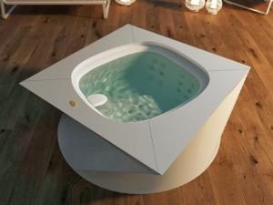 Jacuzzi Flow minipiscina de hidromasaje freestanding indoor 9445-01952