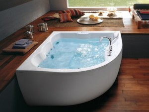 Jacuzzi Maxima bañera de hidromasaje angular 9443788A