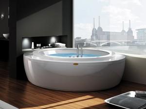 Jacuzzi Nova Wood bañera de hidromasaje angular NOV30410711