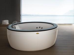 Jacuzzi Nova Wood bañera de hidromasaje freestanding NOV20510700