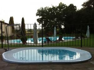 Jacuzzi Sienna Experience minipiscina de hidromasaje empotrada indoor y outdoor 9445-03552