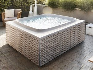 Jacuzzi Skylounge bañera de hidromasaje freestanding outdoor