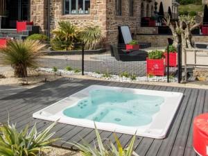 Jacuzzi Virginia Experience minipiscina de hidromasaje empotrada indoor y outdoor 9445-01752