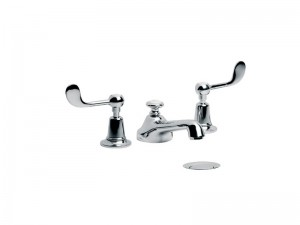 Lefroy Brooks Classic grifo para lavabo 3 agujeros CL1220
