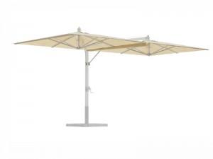 Ombrellificio Veneto Fellini Legno sombrilla 2 brazos laterales 350x700cm FELLINI