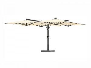 Ombrellificio Veneto Galileo Legno sombrilla 4 brazos laterales 700x700cm GALILEO