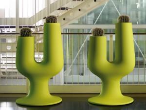 Plust Cactus florero 6221
