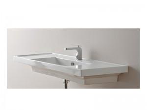 Scarabeo ML lavabo de encaje con doble estante 3007
