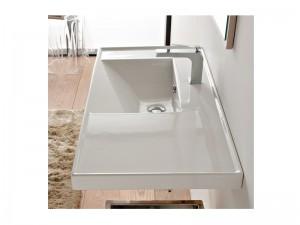 Scarabeo ML lavabo de encaje con estante 3009
