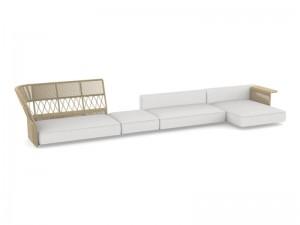 Talenti Cliff Decò sofa sectional en telo CLIDIVMULT