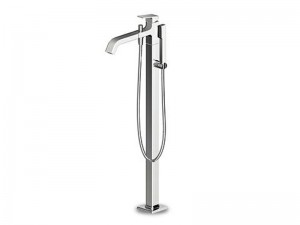 Zucchetti Jingle grifo para bañera de pié con ducha de mano ZIN622