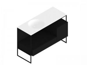 Zucchetti Kos Morphing mueble con lavabo 8MP303NE