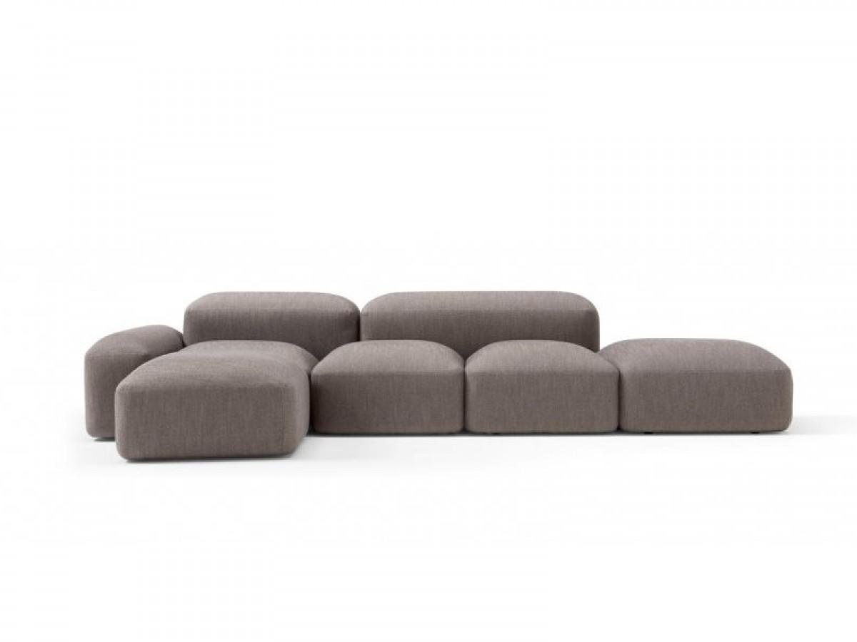 Amura Lapis sofá seccional en telo LAPIS.E019